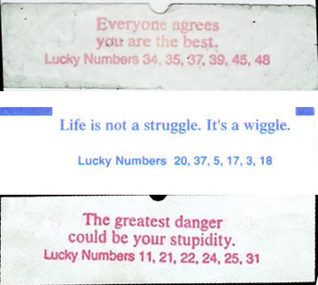 photograph relating to Printable Funny Fortune Cookie Sayings named Against German Tanks toward stochastic fortune cookies Isaac Slavitt