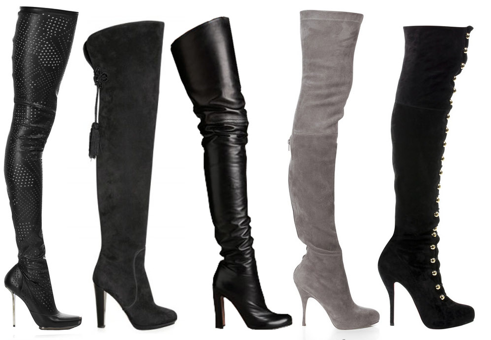 thigh high boots | color scientist