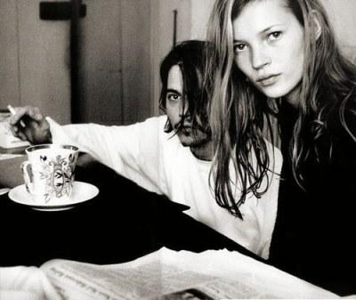 Johnny Depp Kate Moss