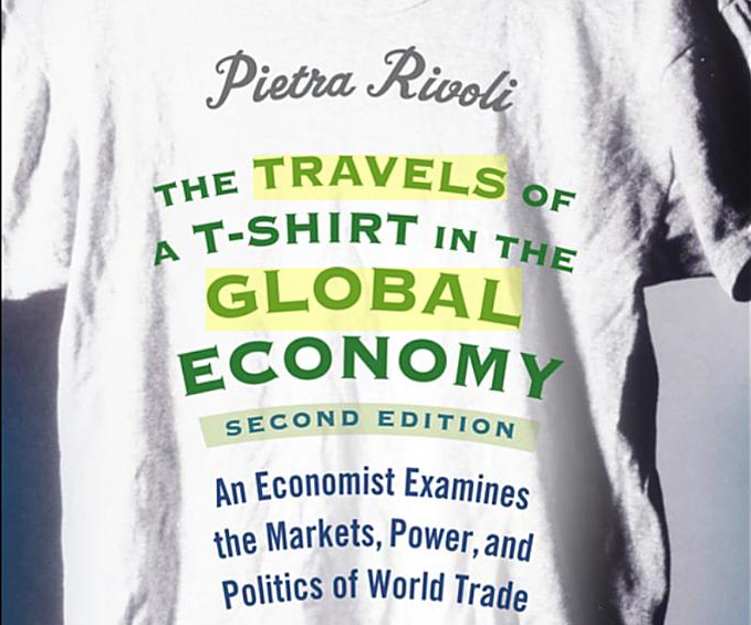 thesis of the travels of at-shirt in the global economy