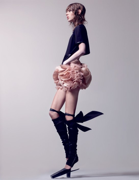 Editorial - Tough Ballerina Interview Magazine April10 Craig McDean via fashiongonerogue 5
