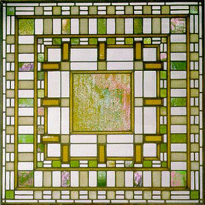Original size at 400   215  400Frank Lloyd Wright Stained Glass Circles