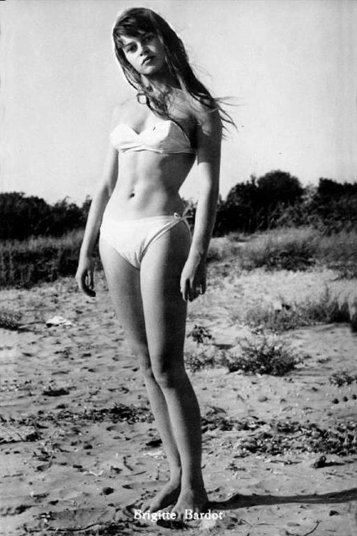 brigitte bardot bikini body- brunette