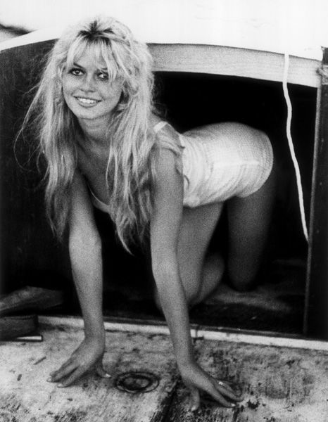 Brigitte Bardot boat - hair - body inspiration