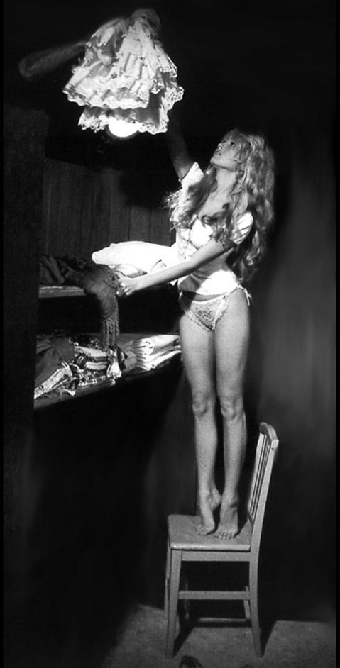 Brigitte bardot changing on set