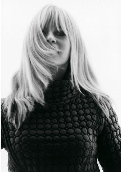 brigitte bardot straight hair blonde - quilted jacket