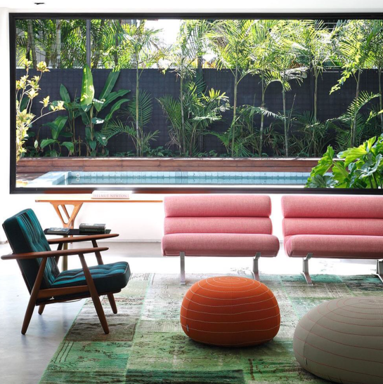 keenan evans - interior home inspiration - color - mid century modern