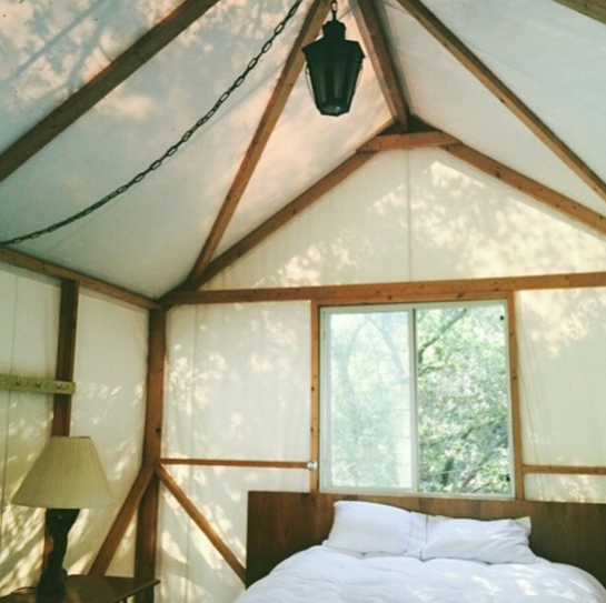 keenan evans - interior home inspiration - tent